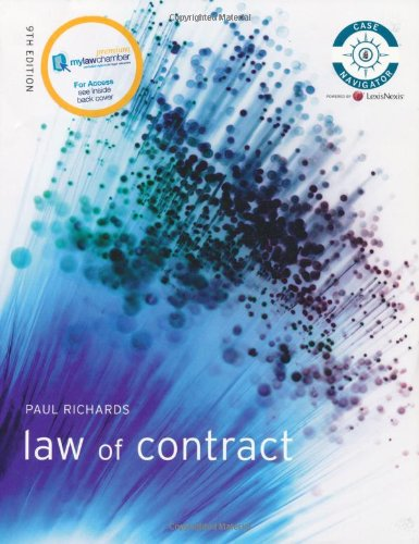 Contract Law MLC Pack By Paul Richards