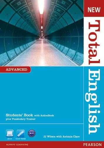 New Total English Advanced Students' Book with Active Book Pack By Mr J J Wilson