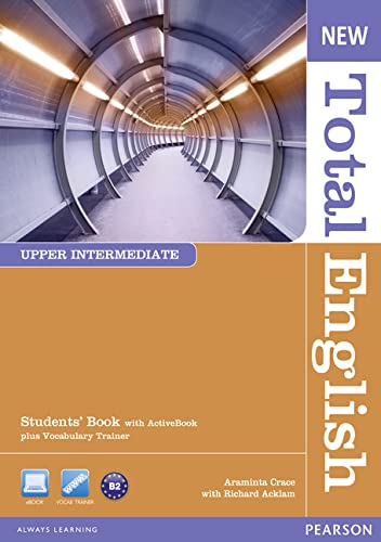 New Total English Upper Intermediate Students' Book with Active Book Pack By Araminta Crace