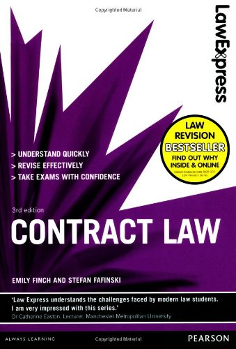 Law Express: Contract Law (revision Guide) by Stefan Fafinski