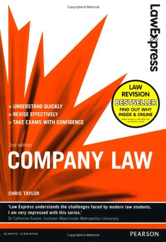 Law Express: Company Law (Revision Guide) By Chris Taylor