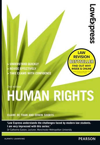 Law Express: Human Rights (Revision Guide) by Claire de Than