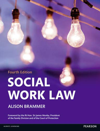 Social Work Law By Alison Brammer