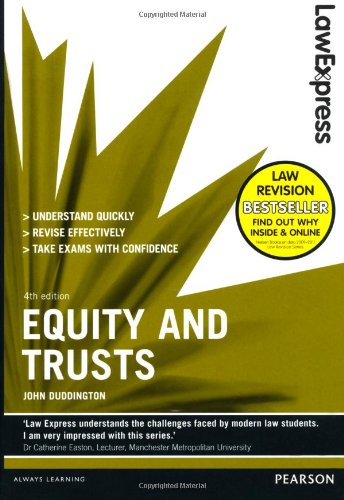 Law Express: Equity and Trusts (revision Guide) by John Duddington