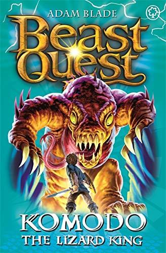 Komodo the Lizard King: Series 6 Book 1 (Beast Quest) By Adam Blade