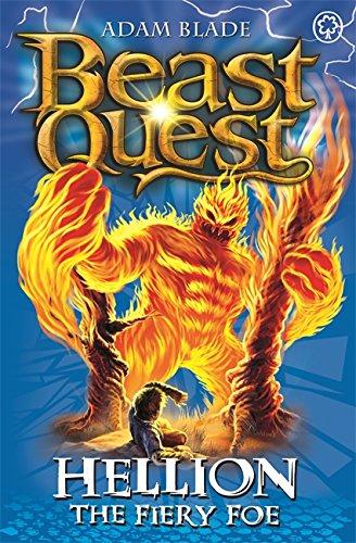Hellion the Fiery Foe: Series 7 Book 2 (Beast Quest) By Adam Blade