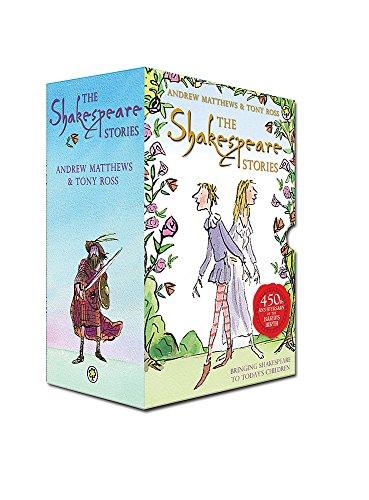 Shakespeare Stories slipcase x 16 titles By Andrew Matthews