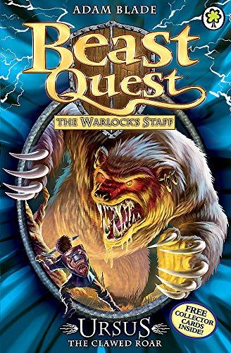 Ursus the Clawed Roar: Series 9 Book 1 (Beast Quest) By Adam Blade