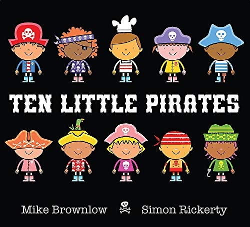Ten Little Pirates By Simon Rickerty