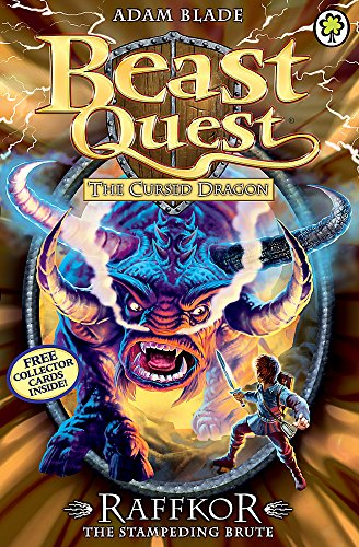 Raffkor the Stampeding Brute: Series 14 Book 1 (Beast Quest) By Adam Blade