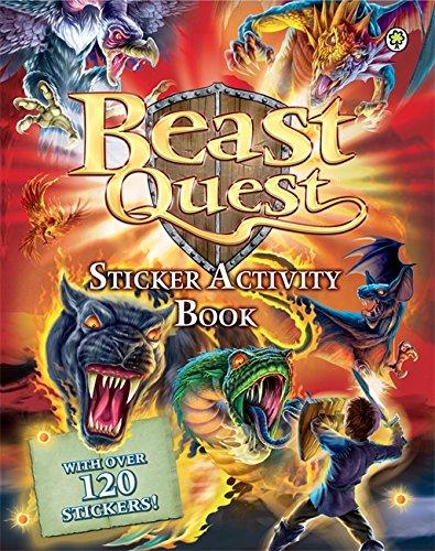 Beast Quest: Sticker Activity Book By Adam Blade