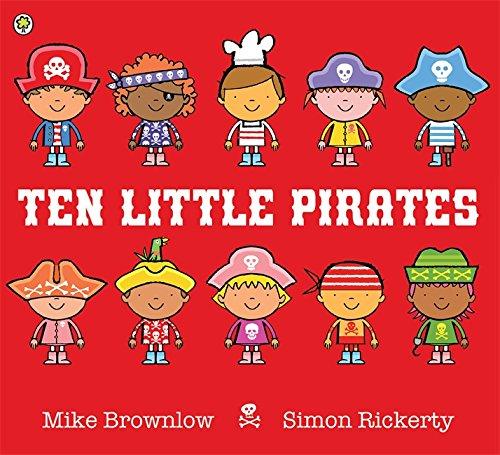 Ten Little Pirates By Simon Rickerty