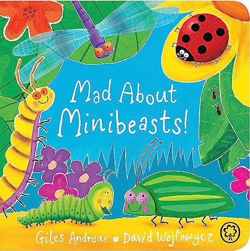 Mad About Minibeasts! Board Book By David Wojtowycz