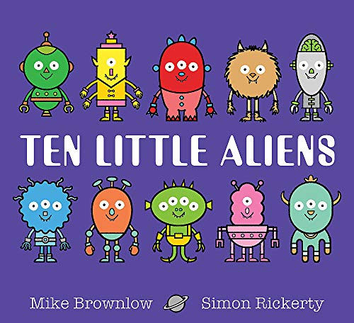 Ten Little Aliens By Mike Brownlow