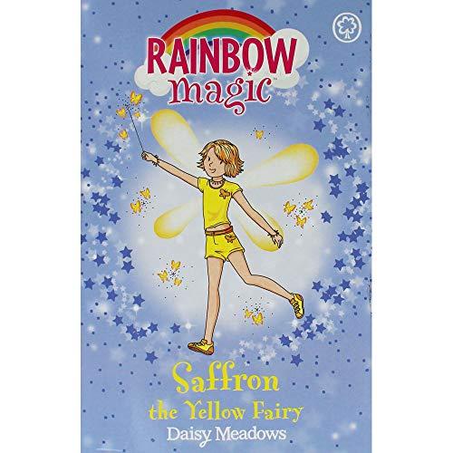 Daisy Meadows Rainbow Magic - Saffron the Yellow Fairy By DAISY MEADOWS