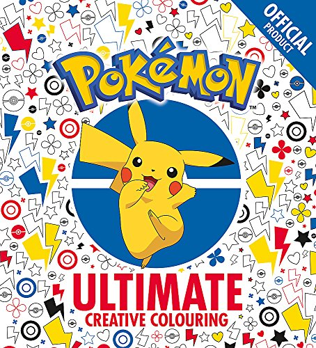 The Official Pokémon Ultimate Creative Colouring By Pokemon