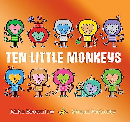Ten Little Monkeys By Mike Brownlow