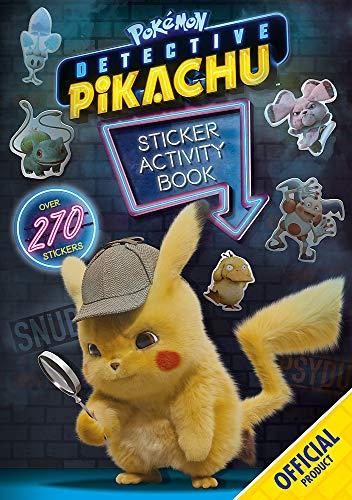 Detective Pikachu Sticker Activity Book von Pokemon