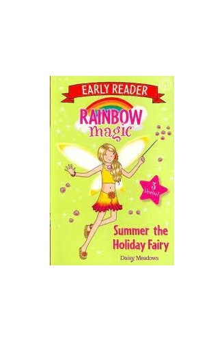 Rainbow Magic Early Reader: Summer the Holiday Fairy By Daisy Meadows