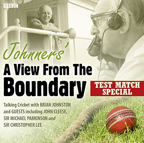 Johnners' A View From The Boundary  Test Match Special by Barry Johnston