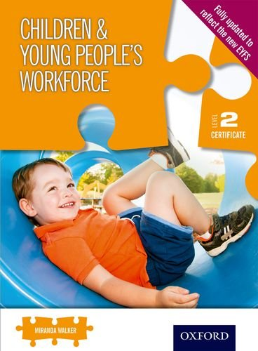 level 2 certificate for the children This certificate for the children and young peoples workforce is for those thinking of working in a range of childcare occupations.