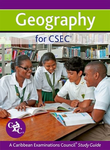 Geography for CSEC CXC a Caribbean Examinations Council Study Guide By Simon Ross