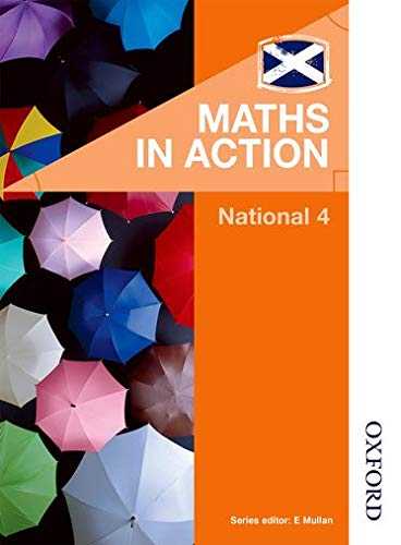 Maths in Action National 4 by Varrie, Elizabeth Book The Cheap Fast Free Post
