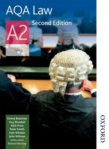 AQA Law A2 by Guy Blundell