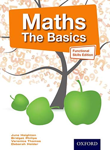 Maths The Basics Functional Skills Edition By June Haighton