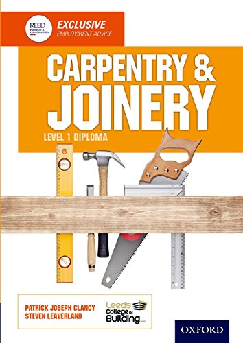 Carpentry & Joinery Level 1 Diploma By Leeds College of Building