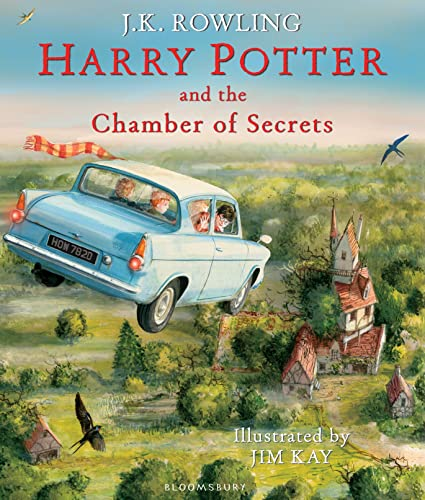 Harry Potter and the Chamber of Secrets: Illustrated Edition (Harry Potter Illustrated Edtn) By J. K. Rowling