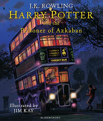 Harry Potter and the Prisoner of Azkaban: Illustrated Edition (Harry Potter Illustrated Edtn) By J. K. Rowling