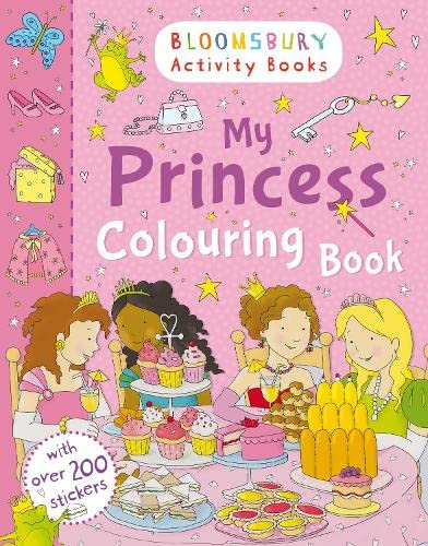 My Princess Colouring Book By NA