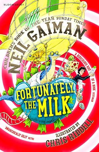 Fortunately the Milk By Gaiman Neil
