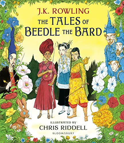 The Tales of Beedle the Bard - Illustrated Edition By J. K. Rowling