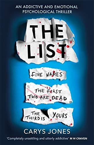 The List By Carys Jones