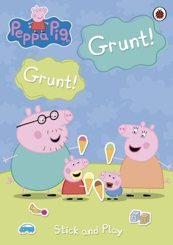Grunt! Grunt! Stick and Play By Ladybird