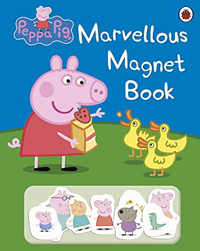 Peppa Pig: Marvellous Magnet Book by
