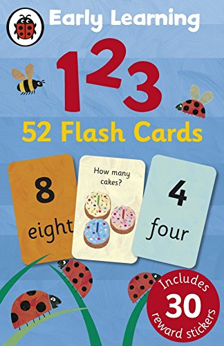 Ladybird Early Learning: 123 flash cards By Ladybird