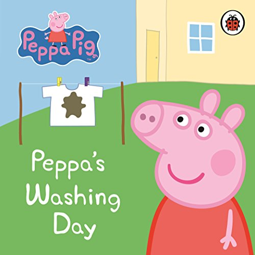 Peppa Pig: Peppa's Washing Day: My First Storybook by