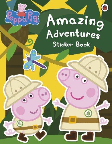 Peppa Pig: Amazing Adventures Sticker Book von Peppa Pig