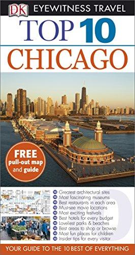 DK Eyewitness Top 10 Travel Guide: Chicago By Elaine Glusac
