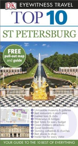 DK Eyewitness Top 10 Travel Guide: St Petersburg By DK Publishing