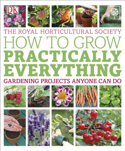 RHS How to Grow Practically Everything: Gardening Projects Anyone Can Do by Lia Leendertz