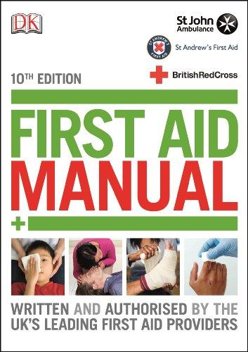 First Aid Manual (Dk First Aid) By DK