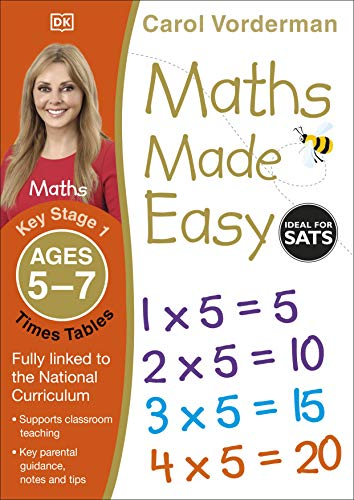 Maths Made Easy: Times Tables, Ages 5-7 (Key Stage 1) von Carol Vorderman