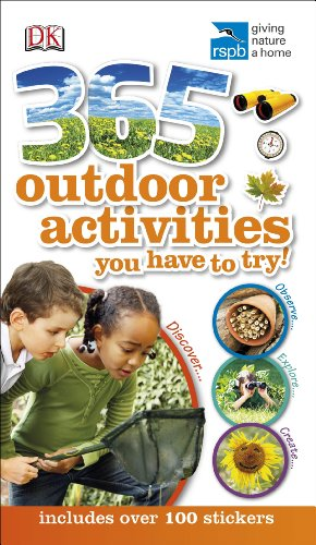 RSPB 365 Outdoor Activities You Have to Try By DK