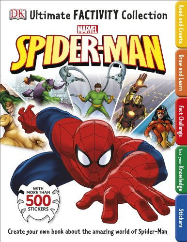 Spider-Man Ultimate Factivity Collection By DK