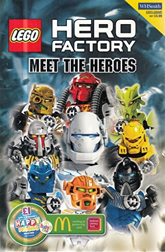 Lego Hero Factory Meet The Heroes Storybook By Lego