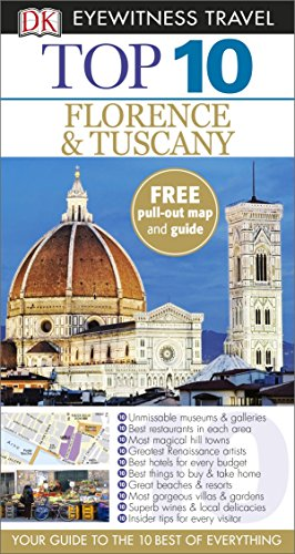 DK Eyewitness Top 10 Travel Guide Florence & Tuscany By DK